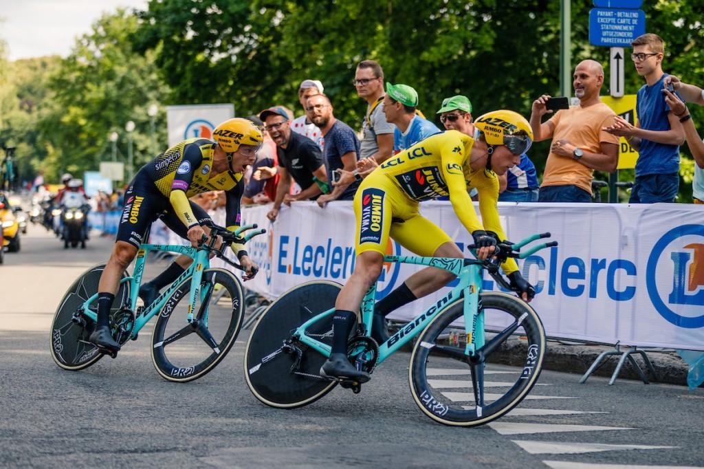 Jumbo-Visma zesde in ploegentijdrit Czech Tour