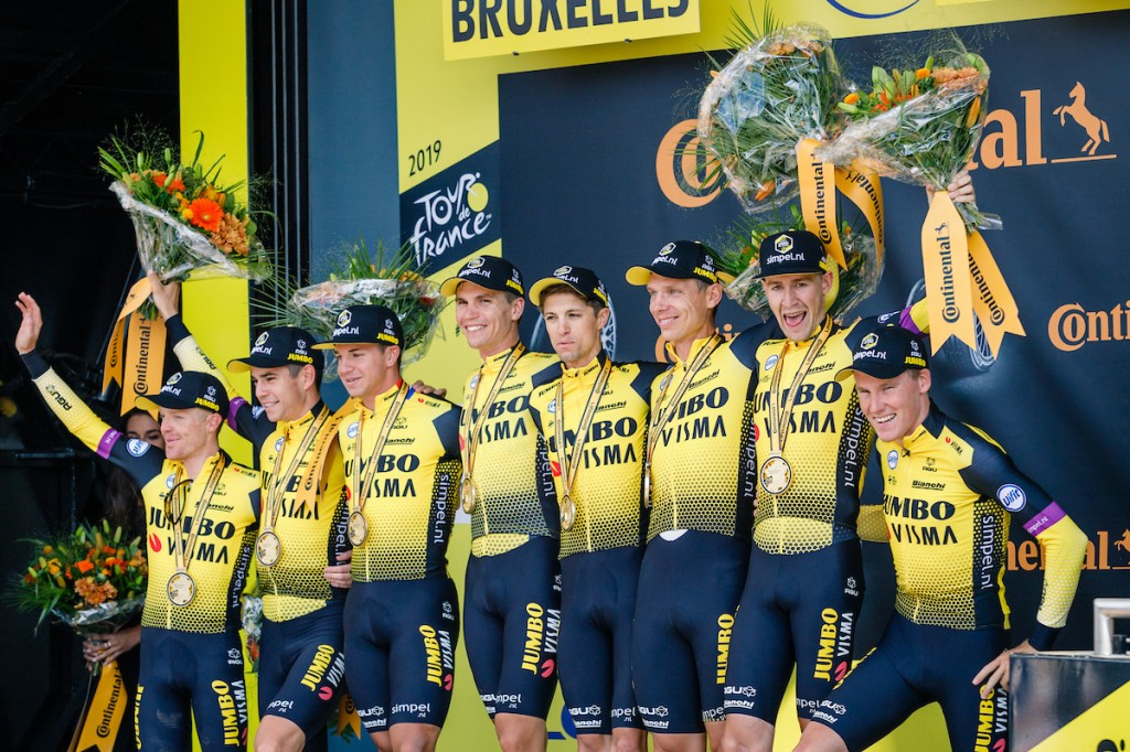 Rugnummers deelnemers Tour de France 2020