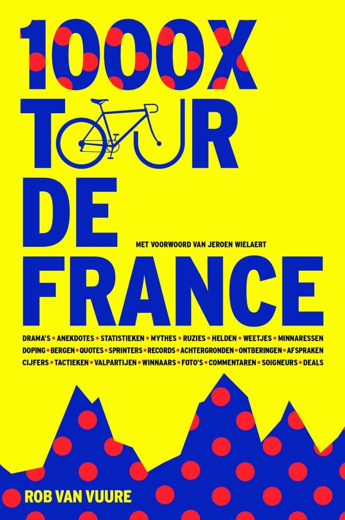 Boek: 1000 keer Tour de France
