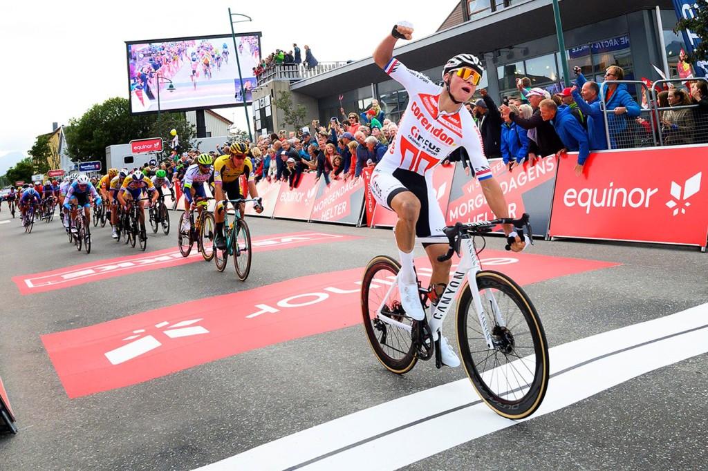 Van der Poel wint in Arctic Race