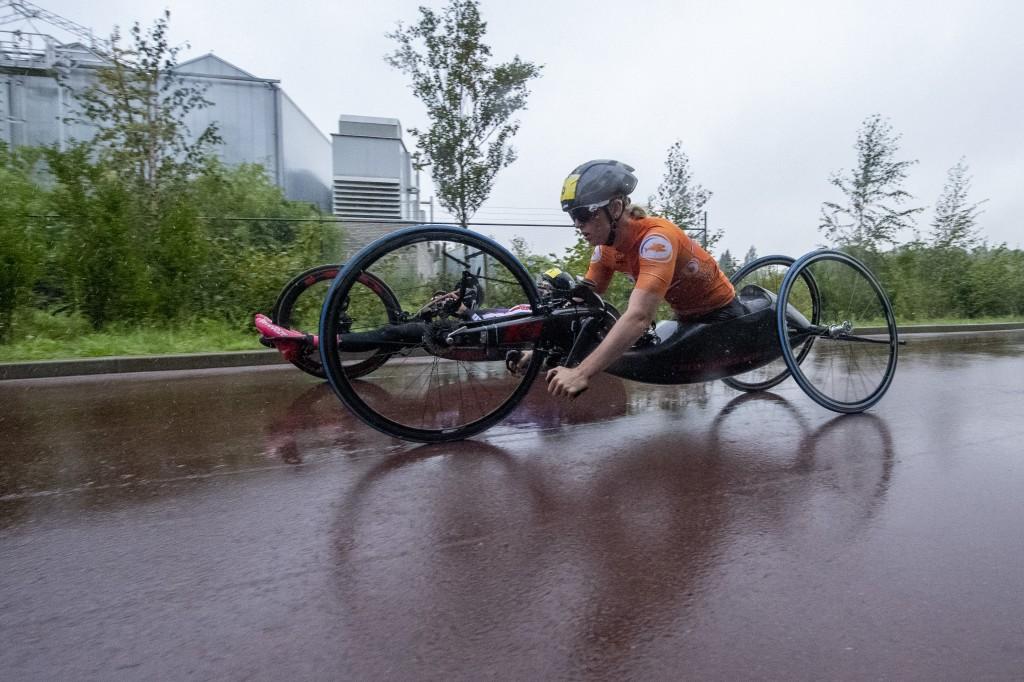 Eerste goud WK Para-Cycling Emmen voor Italië