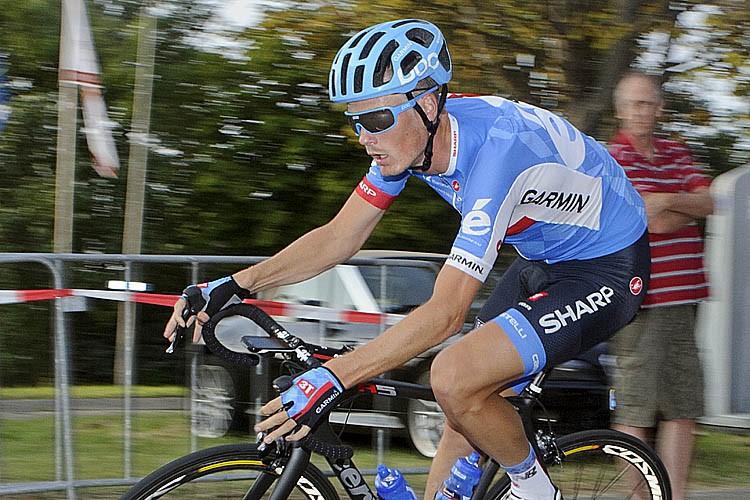 Dylan van Baarle wint Tour of Britain