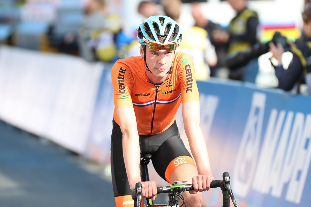 Arensman naar derde plek in de Vuelta