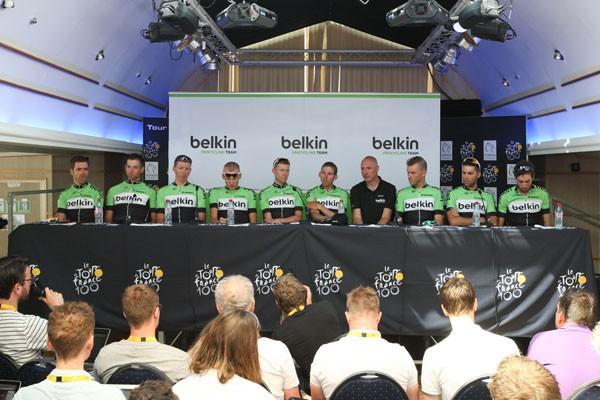 Belkin verdiende tot nu toe het best in de Vuelta