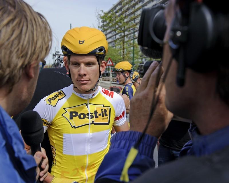 Na Vuelta wacht China op Jetse Bol