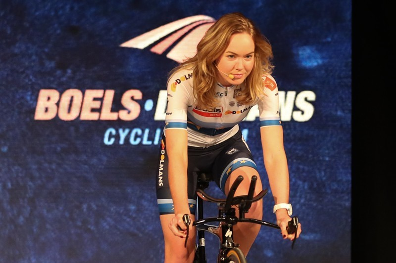 Van der Breggen: 'Met Nederland winnen'