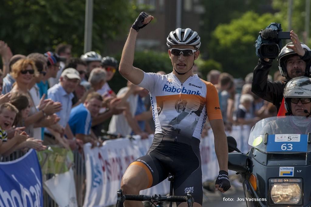 Budding wint Ronde van Limburg