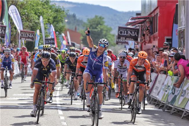 Tim Ariesen is derde in Ronde Burgos