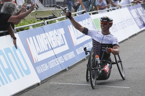 Nederlandse medailleregen op slotdag WK Para-cycling