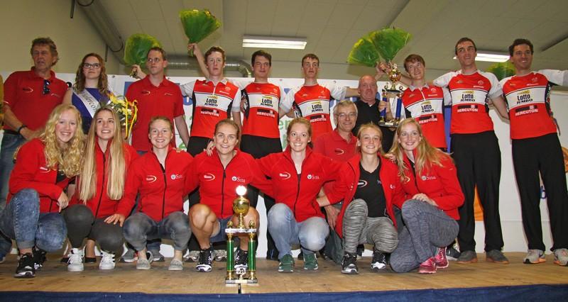 De Jonge Renner wint Clubcompetitie Mannen