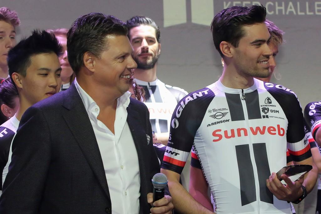 Dumoulin steviger op tweede plek in Giro