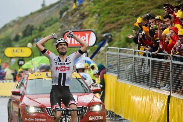 Dumoulin wint bergrit Tour Andorra Arcalis