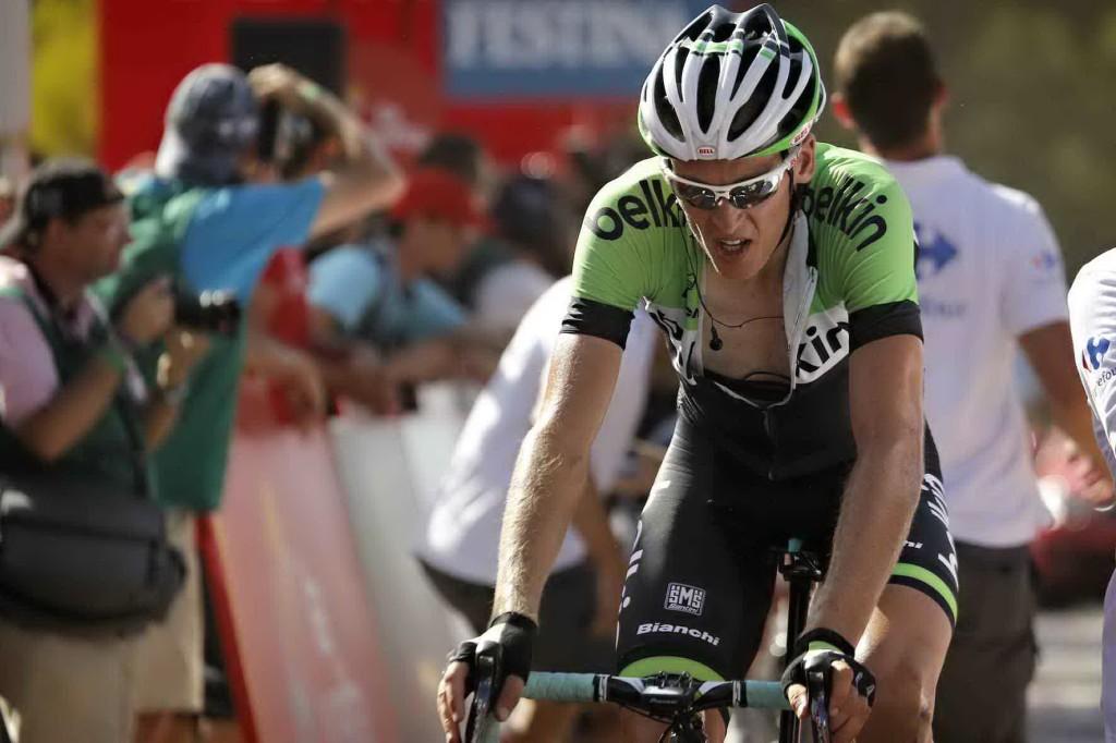 Belkin attent in waaieretappe Vuelta