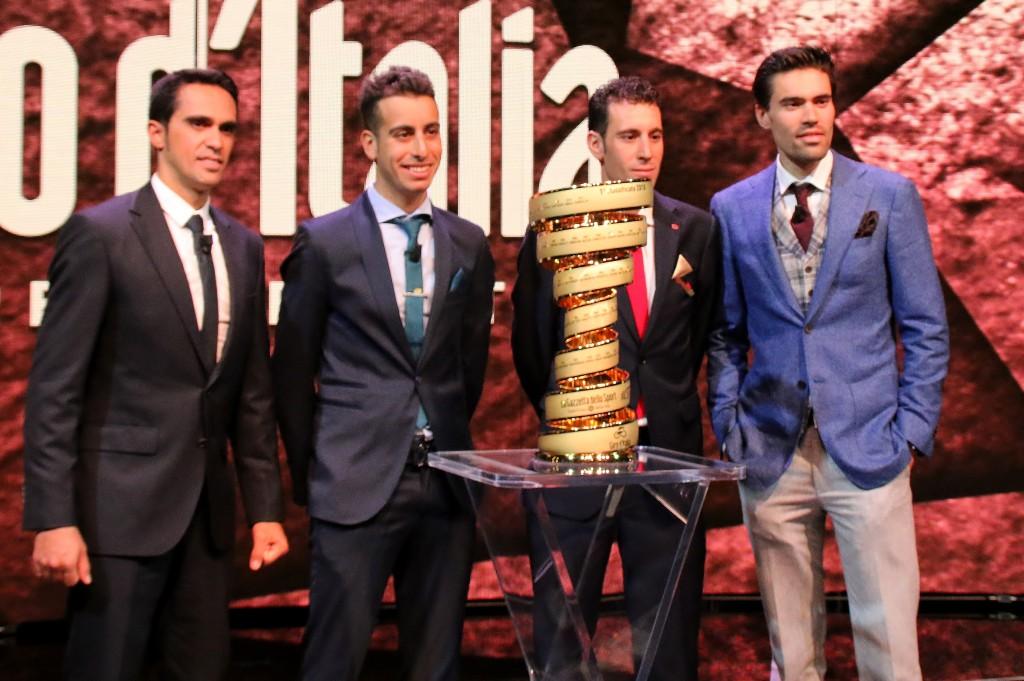Etappeschema Giro d'Italia 2018 bekend