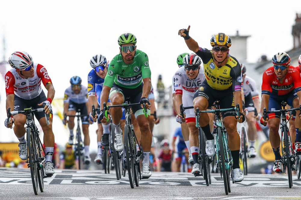 Groenewegen wint in Tour de France