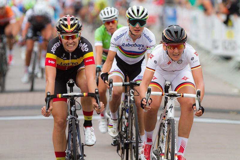 Brennauer wint tweede rit Ladies Tour