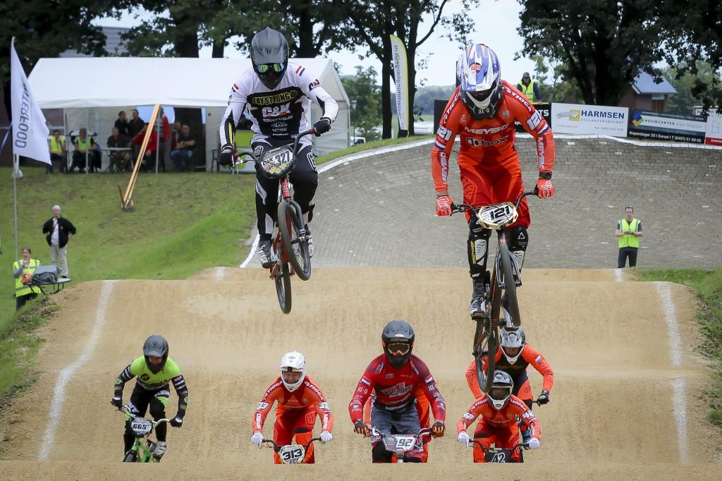 BMX: Jordy van der Heijden winnaar in Rijswijk