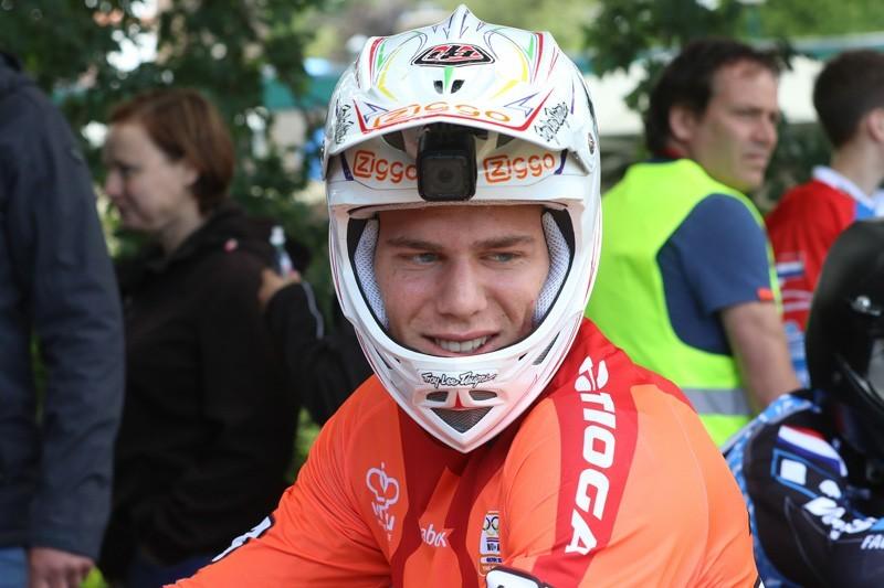 Niek Kimmann rijdt naar olympisch goud