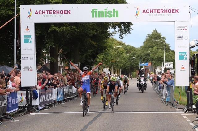 Vijf continentale teams aan start Achterhoek