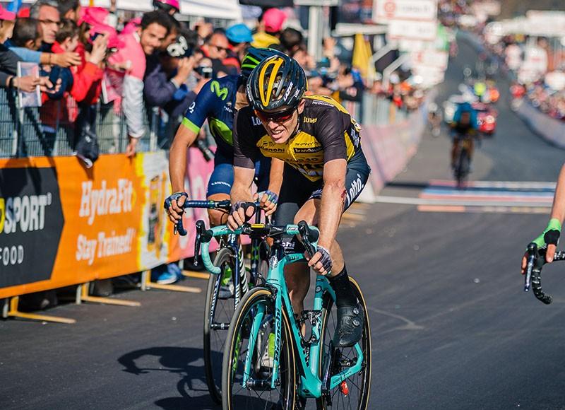 Steven Kruijswijk stapt uit Giro