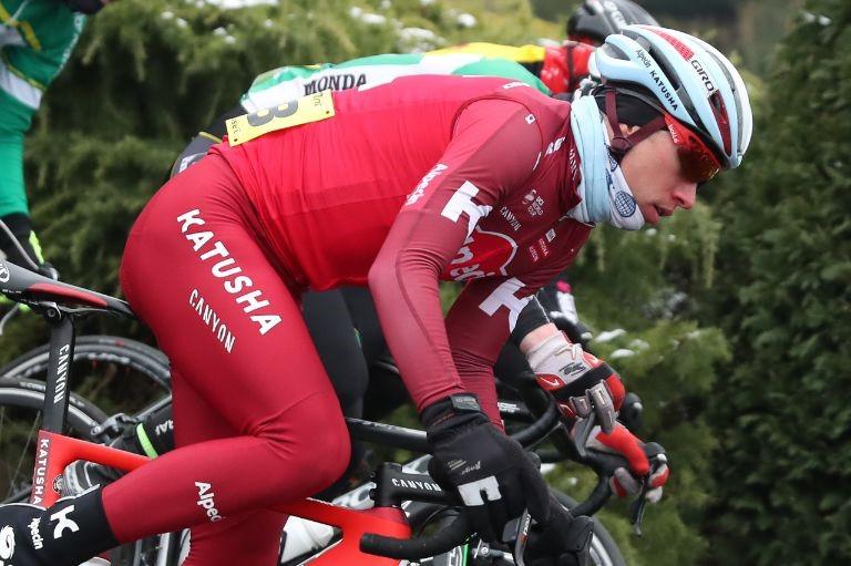 Maurits Lammertink geeft op in Vuelta