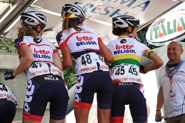 Elf nieuwkomers bij vrouwen Lotto-Belisol