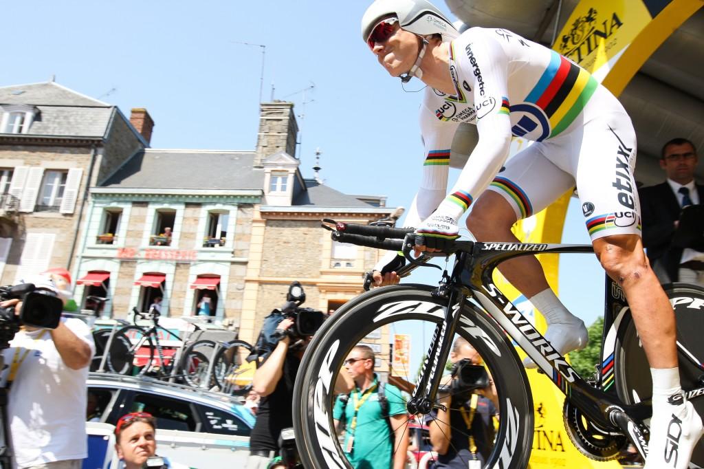 Tour start met tijdrit dertien kilometer door Utrecht