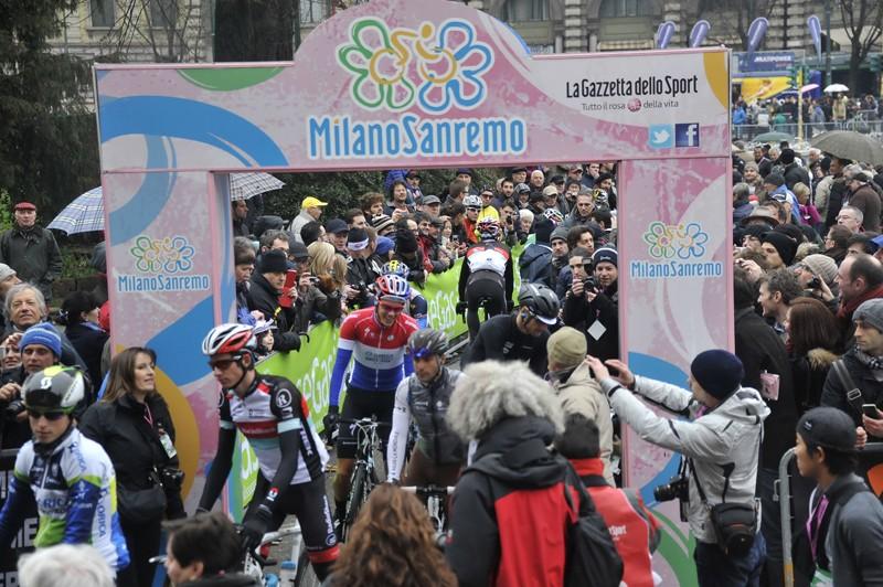 Vijftien Nederlanders in Milaan-San Remo