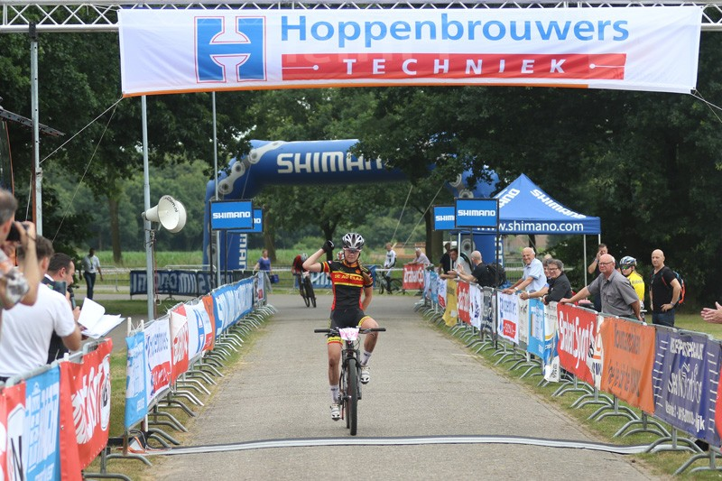 Nationale Mountainbike Cup start in Berlicum