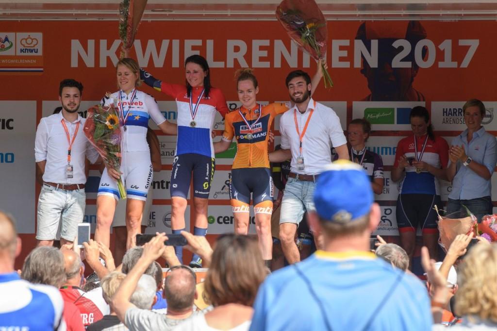Van Vleuten opnieuw Nederlands kampioene