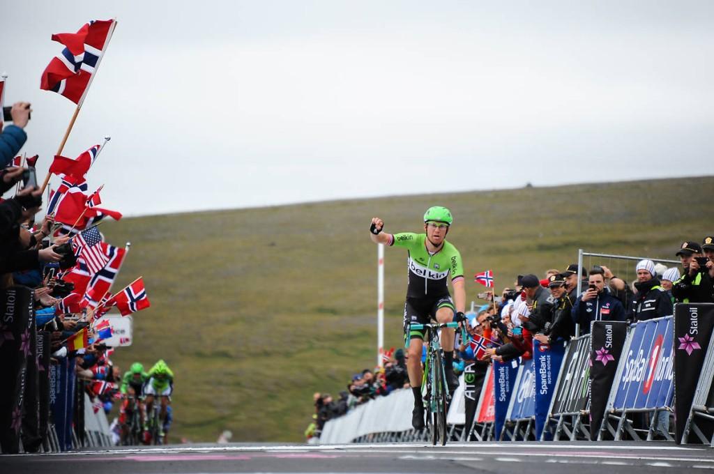 1, 3 en 5 voor Belkin in Arctic Tour of Norway