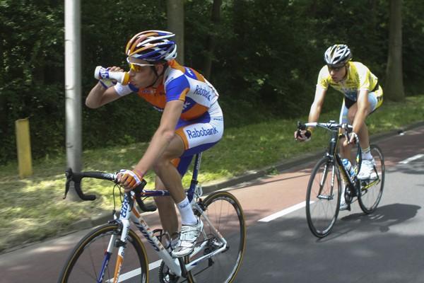 Daan Olivier geniet weer van het fietsen