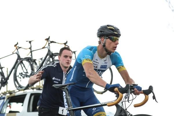 Van der Kooij op podium in Fyen Rundt