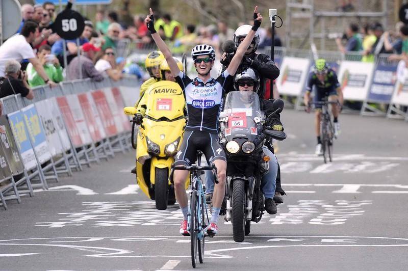 Poels wint in de Ronde van het Baskenland