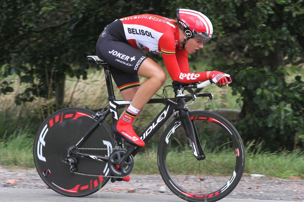 Anouk Rijff stopt met wielrennen op topniveau