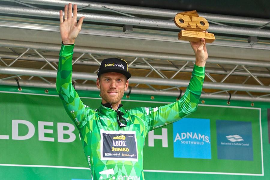 Lars Boom eindwinnaar Tour of Britain