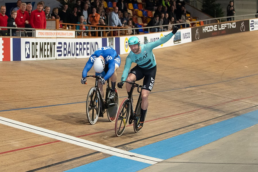 Nederlandse sprinttitel gaat naar Buchli
