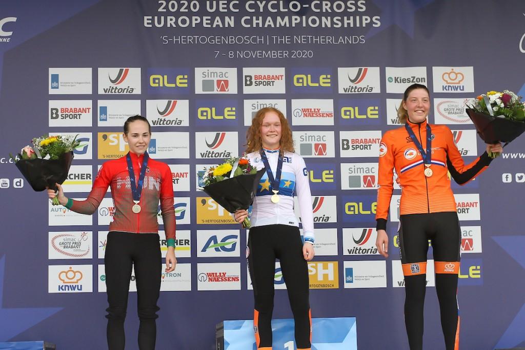 Pieterse Europees kampioene vrouwen -23 (+video)