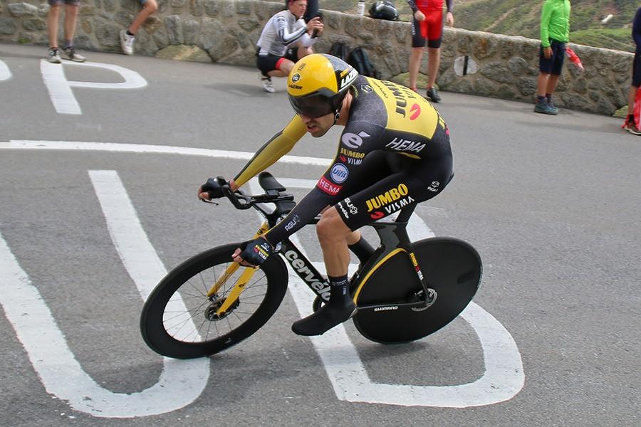 Dumoulin vijfde in klimtijdrit Tour de Suisse