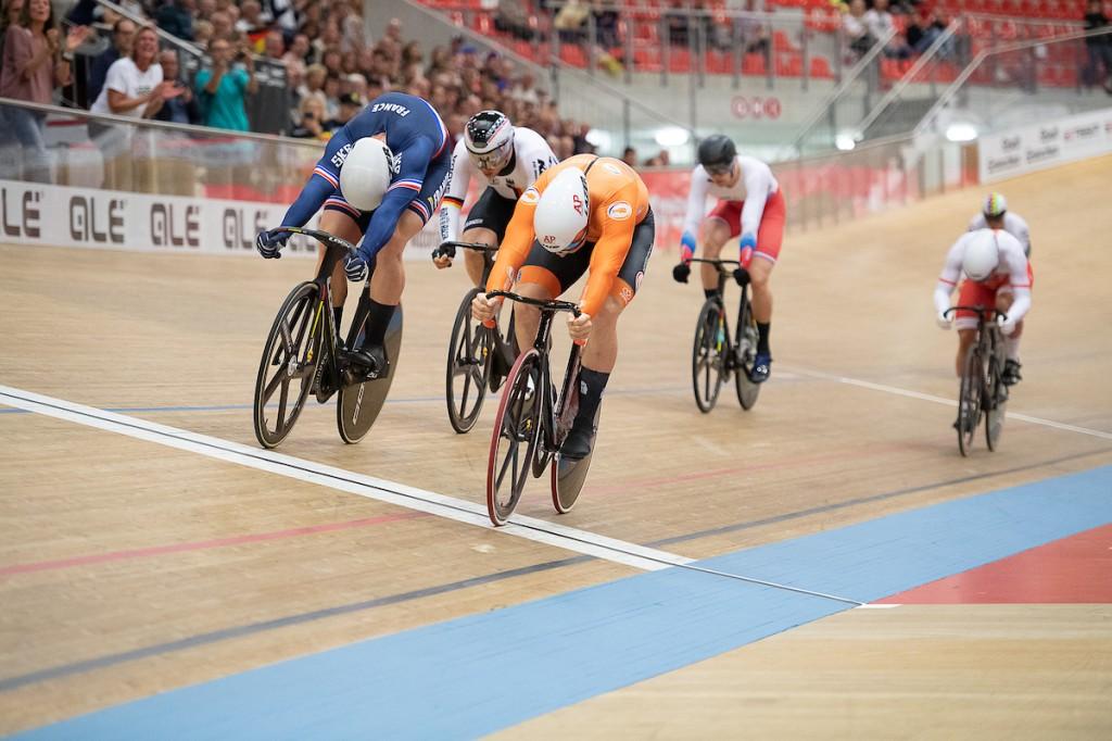 Hoogland wint Europese titel keirin