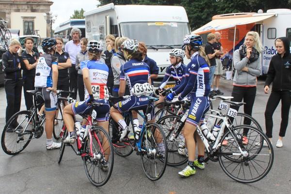 Stakende rensters Giro Toscana niet vervolgd