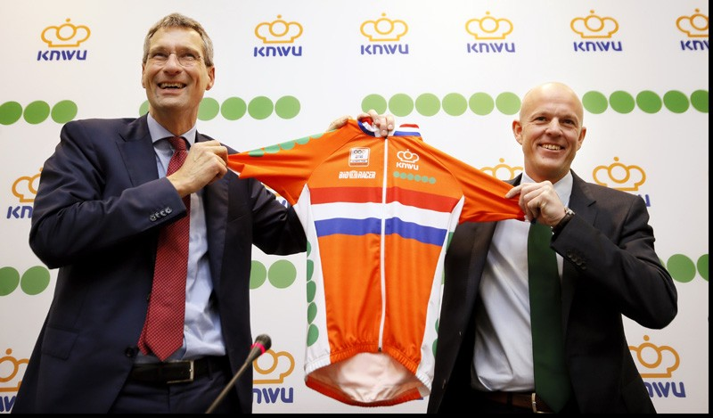 Fonds Gehandicaptensport in plaats Unibet op shirt KNWU