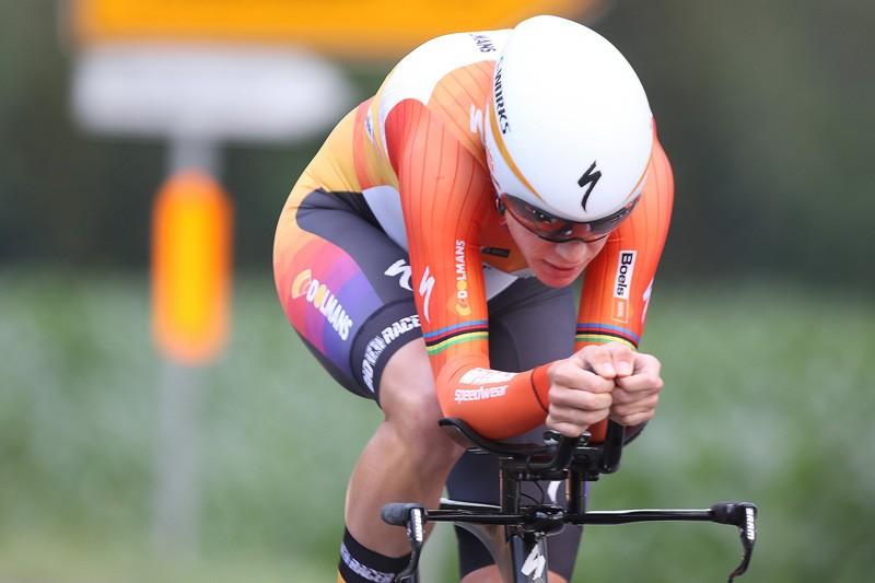 Van Dijk is derde in Chrono Champenois