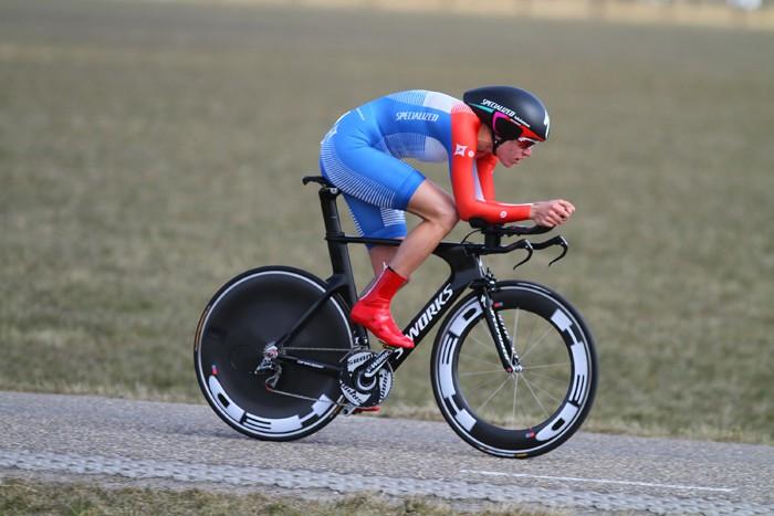 Ellen van Dijk wint Chrono Champenois