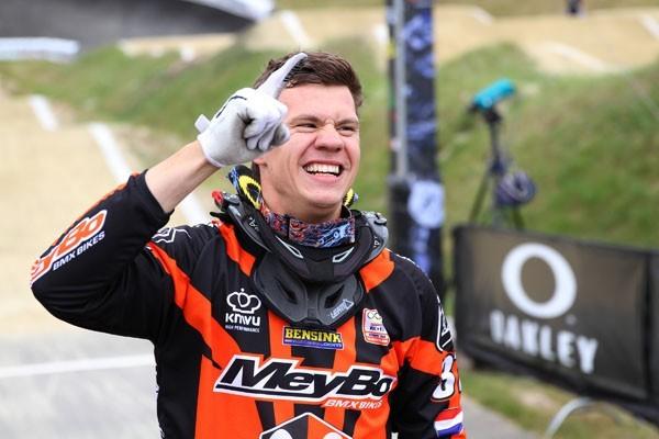 BMX'er Jelle van Gorkom ernstig gewond