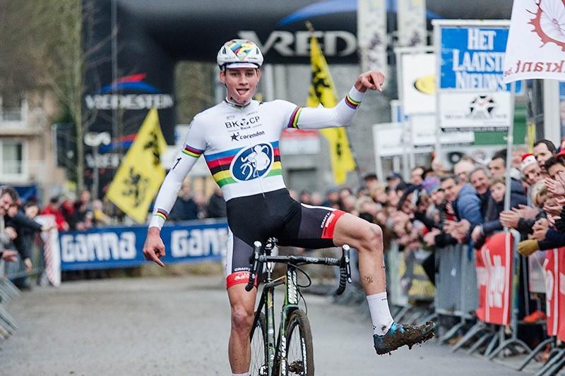 Mathieu van der Poel gaat op puntenjacht