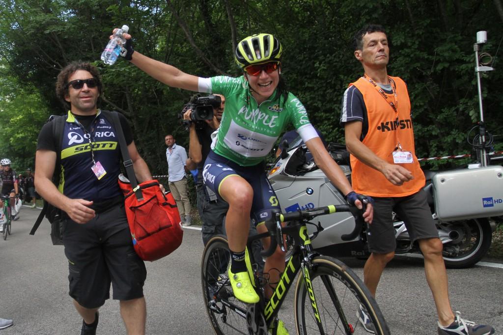 Deelnemers Giro Rosa 2018