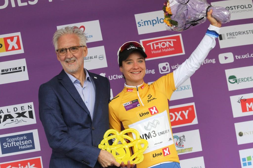 Vos eindwinnares Ronde van Noorwegen