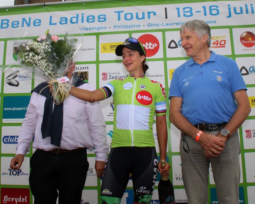 Vos opnieuw tweede in BeNe Ladies Tour