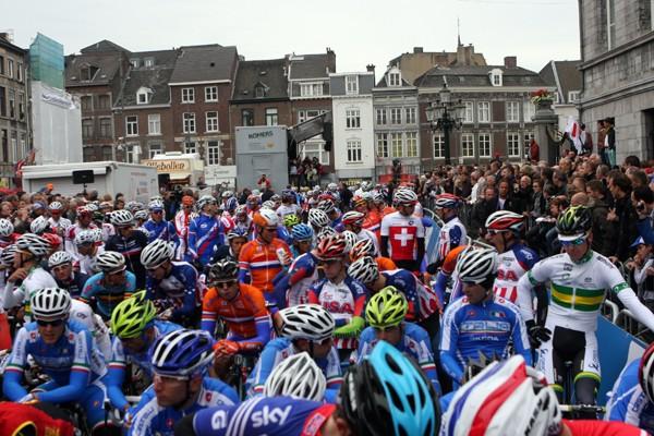Deelnemers WK Richmond wacht Noord-Europees rondje